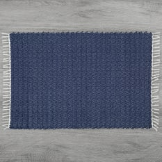 Amelia Jackson Dhurrie Twill Shower Mat