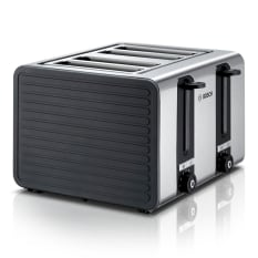 Bosch Stainless Steel 1800W 4 Slice Toaster