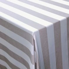 DSA Table Linen Specialists Seattle Striped Square Tablecloth