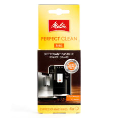 Melitta Perfect Clean Tablets For Automatic Coffee Machines, Pack of 4