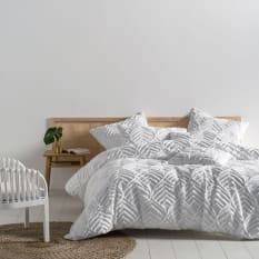 Ramona White Duvet Cover Set