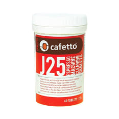 Cafetto J25 Cleaning Tablets for Bean-To-Cup Coffee Machines, 40 Tablets