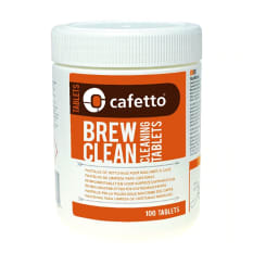 Cafetto Cleaning Tablets for Brewing Machines, 100 Tablets
