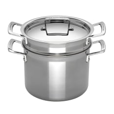Le Creuset 3 Ply Stainless Steel Pasta Pot With Sieve