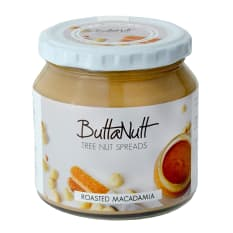 Buttanutt Roasted Macadamia Nut Butter, 260g