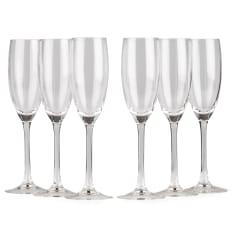 Arcoroc Senso Champagne Flutes, Set of 6