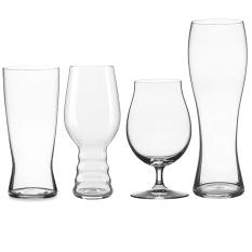 Spiegelau Lead-Free Crystal Craft Beer Glass Tasting Kit, Set of 4