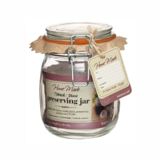 KitchenCraft Home Made Glass Preserving Jars