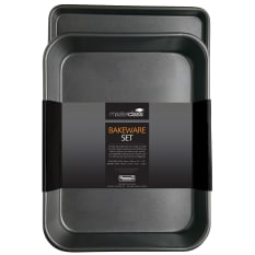 MasterClass Non-Stick Twin Pack - Roasting Pan and Oven Tray