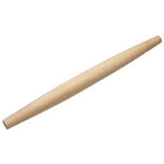 KitchenCraft Italian Collection Wooden Rolling Pin, 50cm