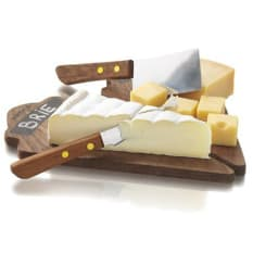 Boska Cheese Board & Knife Set, Set of 4