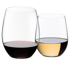 Riedel O Stemless Red & White Wine Glasses, Set of 8 (only pay for 6)