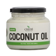Crede Natural Oils Organic Odourless Coconut Oil