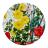Maxwell & Williams Euphemia Henderson Ceramic Coaster, Set of 6, Buttercup