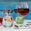 Wine Glass Writer Original Metallic Glass Markers, Set of 3