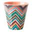 Rice Colourful Design Melamine Cup
