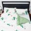Humble Saffa 100% Cotton Hello Summer Print Percale Duvet Cover Set queen