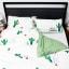 Humble Saffa 100% Cotton Hello Summer Print Percale Duvet Cover Set double