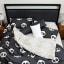 Humble Saffa 100% Cotton Panda Love Print Percale Duvet Cover Set single