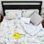 Humble Saffa 100% Cotton Dinosaur Train Print Percale Duvet Cover Set double