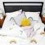 Humble Saffa 100% Cotton Rainbows Print Percale Duvet Cover Set queen