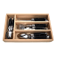 Laguiole by Andre Verdier Classic Country Look 24 Piece Cutlery Set, black
