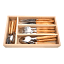 Laguiole by Andre Verdier Classic Country Look 24 Piece Cutlery Set, olive wood