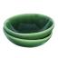 Mervyn Gers Pinch Bowls, Set of 2 Fig Green