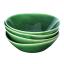Mervyn Gers WL Bowl, Set of 4 Fig Green