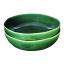 Mervyn Gers Oyster Bowl, Set of 2 Fig Green