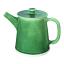 Mervyn Gers 4 Cup Tea Pot, Fig Green