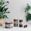 Kapula Frost Pillar Sandalwood Fragranced Candles. Range lifestyle.
