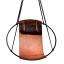 Studio Stirling Sling Debossed Leather Hanging Chair, Geo