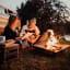Hoefats Triple Fire Bowl in use