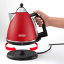 DeLonghi Argento Cordless Kettle Red