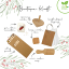 Holly & Ivy Kraft Eco Christmas Crackers, box of 6 contents