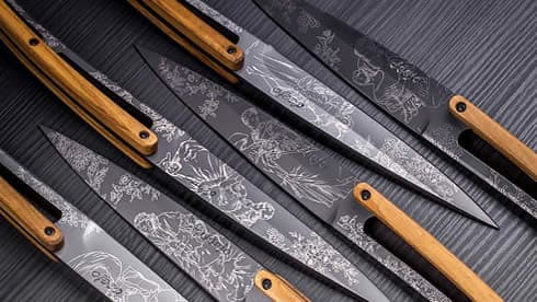 Deejo Steak Knives