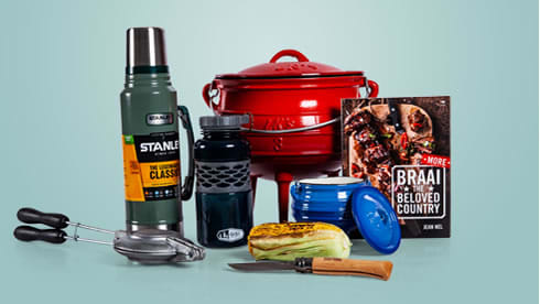 Gifts for the braai and campaign enthusiast