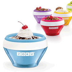 Zoku Soft Serve Ice Cream Makers