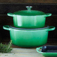 The Le Creuset Rosemary Collection