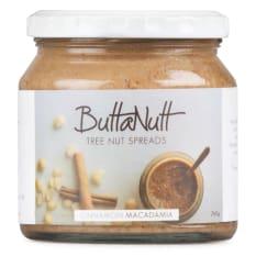 Buttanutt Cinnamon Macadamia Nut Butter, 260g