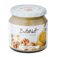 Buttanutt Honey Almond Nut Butter, 260g