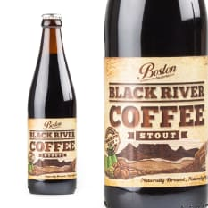 Boston Breweries Black River Coffee Stout