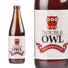 Wild Clover Brewery Double Owl English Brown Ale