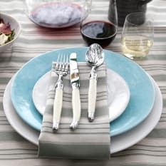 Laguiole by Andre Verdier Cutlery Set, Set of 24