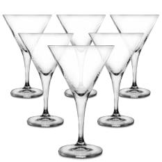 Bohemia Crystal Thun Martini Glasses, Set of 6