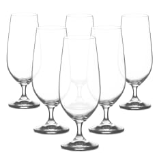 Bohemia Crystal Lara Pilsner Beer Glasses, Set of 6