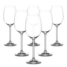 Bohemia Crystal Forum Wine Glasses, Set of 6