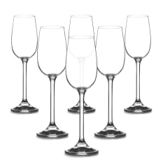 Bohemia Crystal Forum Port & Sherry Glasses, Set of 6