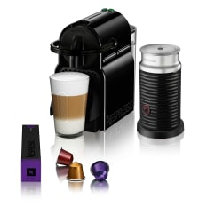 Nespresso Inissia Automatic Espresso Machine with Aeroccino Milk Frother
